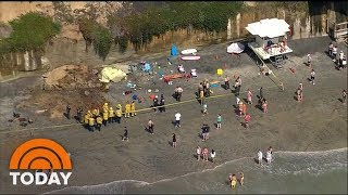 California Cliff Collapse Leaves At Least 3 Dead | TODAY