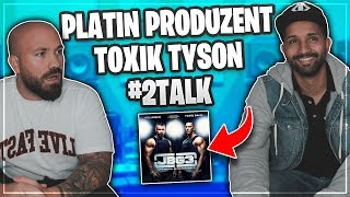 PLATIN Produzent Toxik Tyson (Kollegah, JBG etc) & 2 FREEBEATS (Fortnite & Call Of Duty) #2Talk