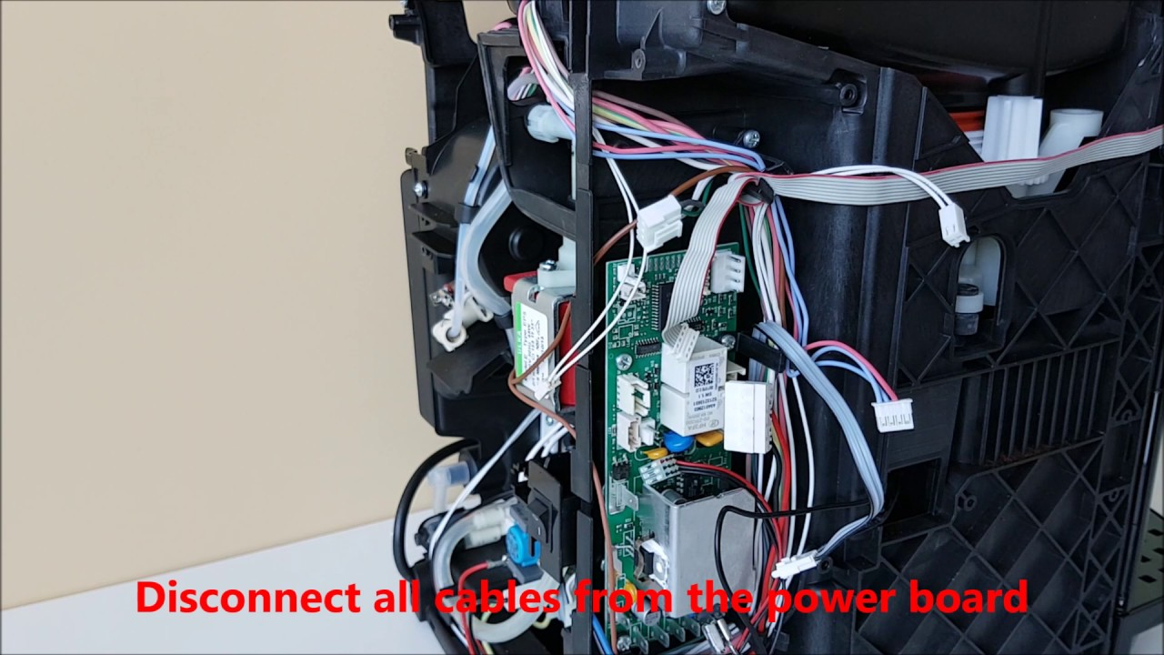 Delonghi Esam2600 3000 4000 Power Board Replacement Youtube Wiring A