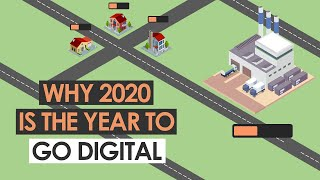 Why 2020 is THE year for manufacturers to go digital...