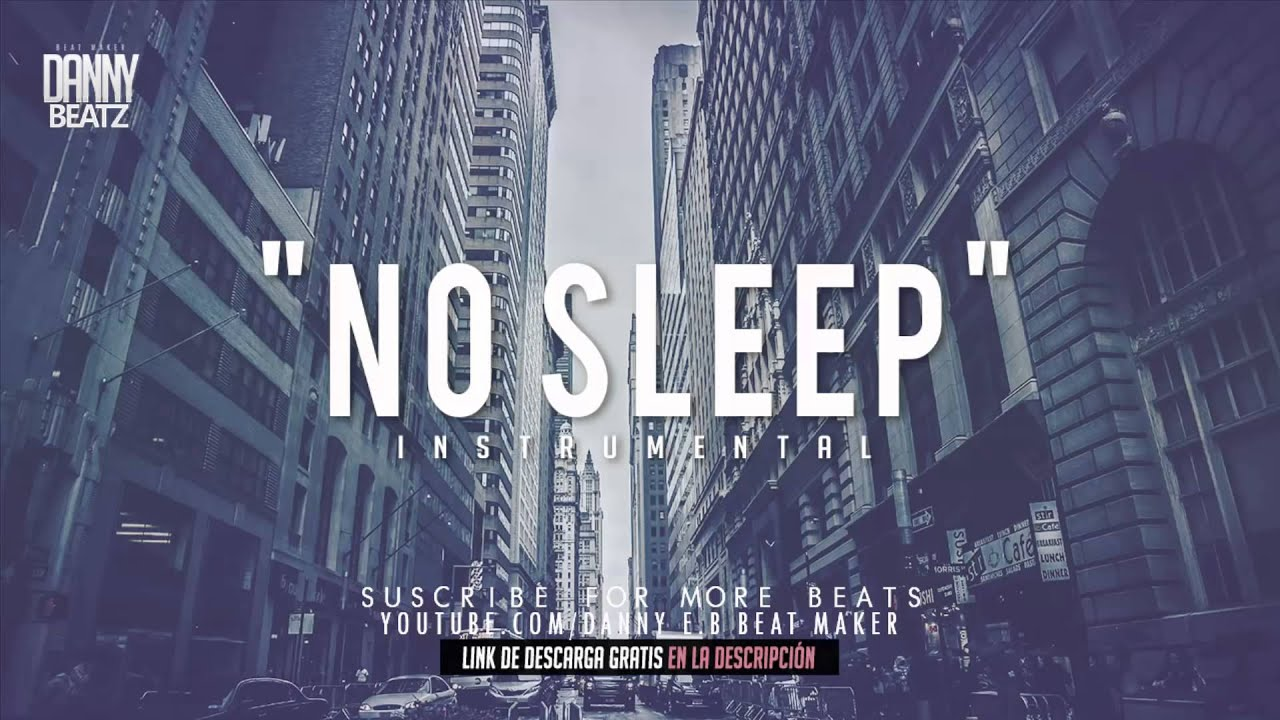 No Sleep   Hard Trap Hip Hop Beat Instrumental Free