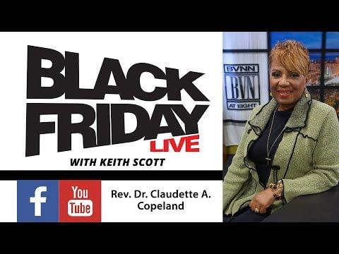 Black Friday Live March 16th w/ John Stevens & Rev. Dr. Claudette A. Copekland