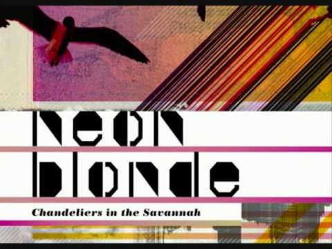 neon blonde wings made out of noise