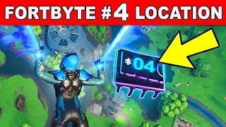 Accessible By Skydiving Through The Rings Above Loot Lake With The Plasma Contrails - Fortbyte 4
