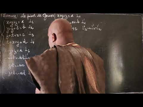Système D'équations, Pivot De Gauss 1S 1