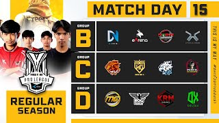 Free Fire Pro League Season 4 : Regular Season Day 15