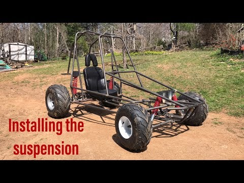 Building the two speed off road go kart part 3 - YouTube