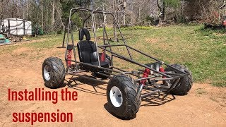Building the two speed off road go kart part 3