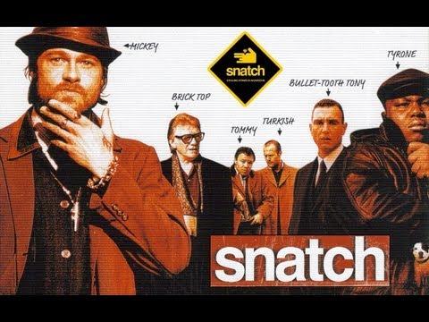 """Snatch"" Brad Pitt, B. Del Toro, Jason Statham | Deutsch German Kritik Review & Trailer Link [HD]"