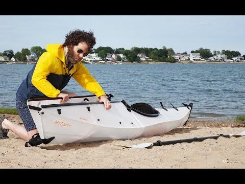 Maker Spotlight Anton Willis With Oru Kayak