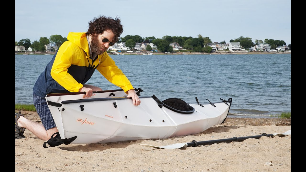Papercraft Oru Kayak - Origami Kayak