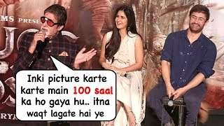 Amitabh Bachchan Makes FUN Of Aamir Khan At Thugs Of Hindoston Trtailer Launch