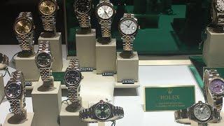 rolex window shopping vlog 6   f7yub