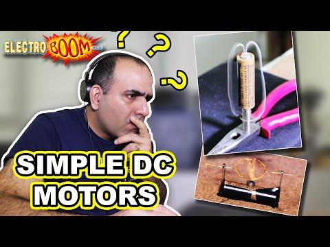 Super Simple DC Motor