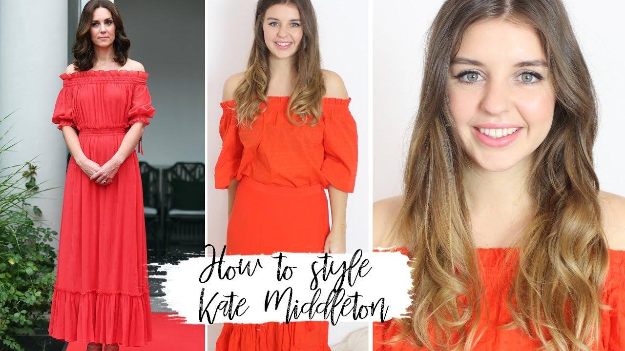 How To Style Kate Middleton Duchess Kate Lovethecosmetics Youtube