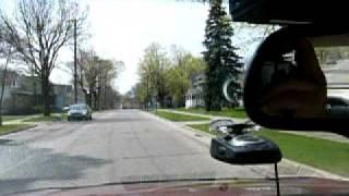 Early Warning EW 3005 Radar Detector vs. Cadillac City Ka Band Speed Sign