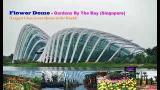 Flower Dome - Gardens By The Bay (Singapore)