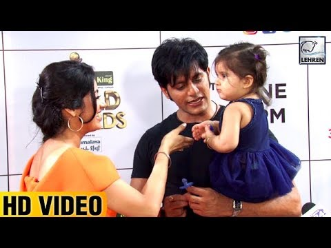 Deepika Singh Playing With Karanvir Bohra's Daughter Bella