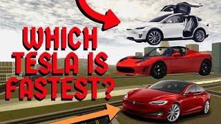 WELCHER TESLA IST DER SCHNELLSTE? | Roblox Fahrzeug-Simulator-Update