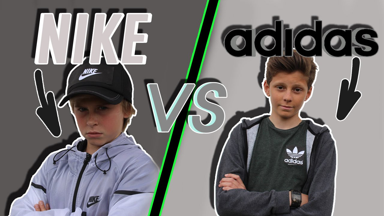 NIKE vs ADIDAS. The Green Comedy