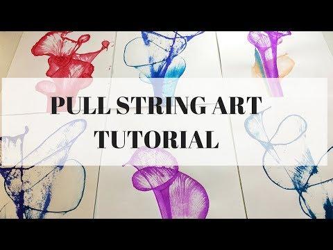 PULL STRING ART ~ A tutorial