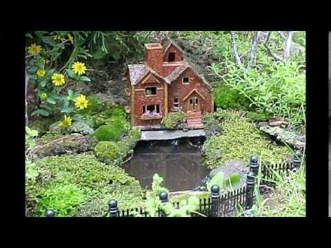 Домик феи - необычное украшение для сада. Красивые домики для феи - украшение сада своими руками