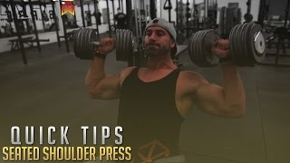 Bradley Martyn - Quick Tips Shoulders - Lateral Raises