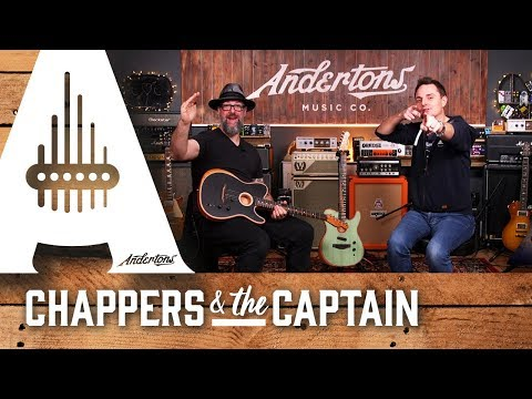 What Does the Fender Acoustasonic Sound Like with Electric Guitar Strings?