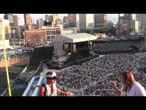 Here We Are 2012 - Jimmy Buffett, Lionel Richie - Comerica Park, Detroit, MI