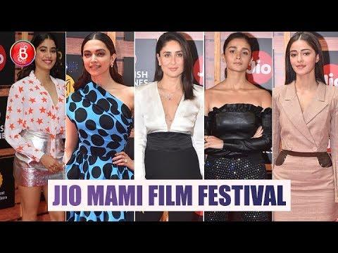 Alia Bhatt, Ananya Panday, Kareena Kapoor, Deepika Padukone Attend Jio MAMI Festival Mp3