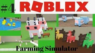 Roblox #4 Farming Simulator Gameplay Jestem farmerem