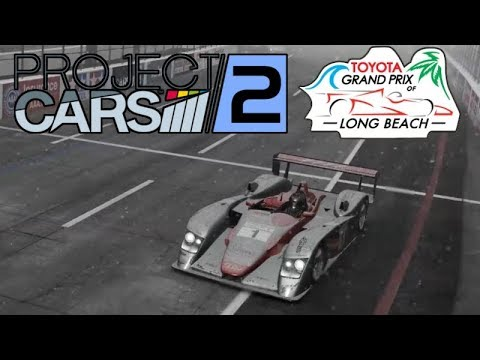 Project CARS 2 - Audi R8 In A Blizzard @ Long Beach (Stream Archive)