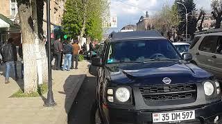 23.04.18 Հաղթարշավ Վանաձորում , Սերժ Սարգսյանի հրաժարական