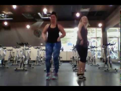 "COUNTRY ZUMBA!!  ""Flatliner"" by Cole Swindell (Choreo by Ellen & Michaela)"