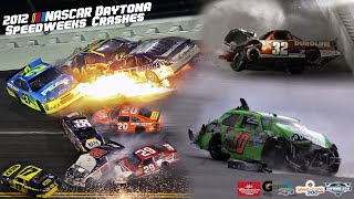 2012 NASCAR Daytona Speedweeks Crashes