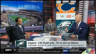 Reaction to Week 9: Eagles survive Bears 22-14 comeback bid, improve to 5-4 | ESPN SC