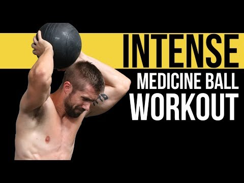 Medicine Ball aka Slam Ball - Follow Along WORKOUT (Ab Shredder!)