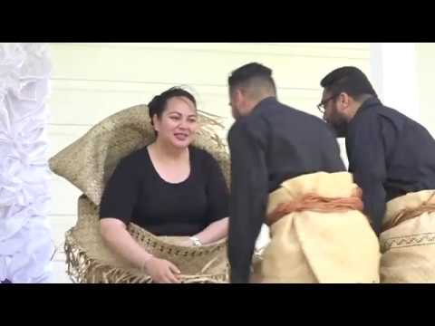 Queen Mother Royal Funerary Presentations - Feitu'ui - HRH Princess Halaevalu Mata'aho
