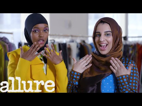 Supermodel Halima Aden Shows Young Muslim Girls How to Model | Allure