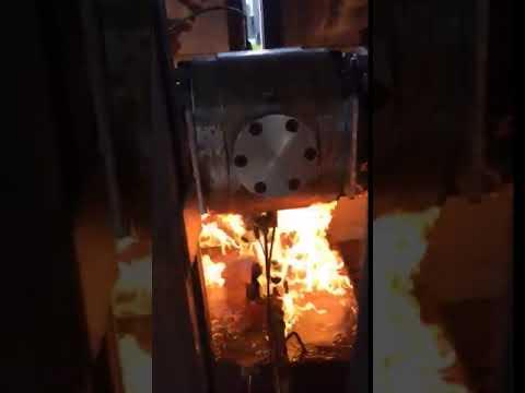 CAM Valves - Trunnion Valve during Fire Test