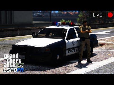 GTA 5 LSPDFR LIVE - Day 55   Las Vegas Metropolitan Police Department (LVMPD)