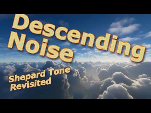 Ten Hours of Perpetually Descending Noise - Shepard Tone
