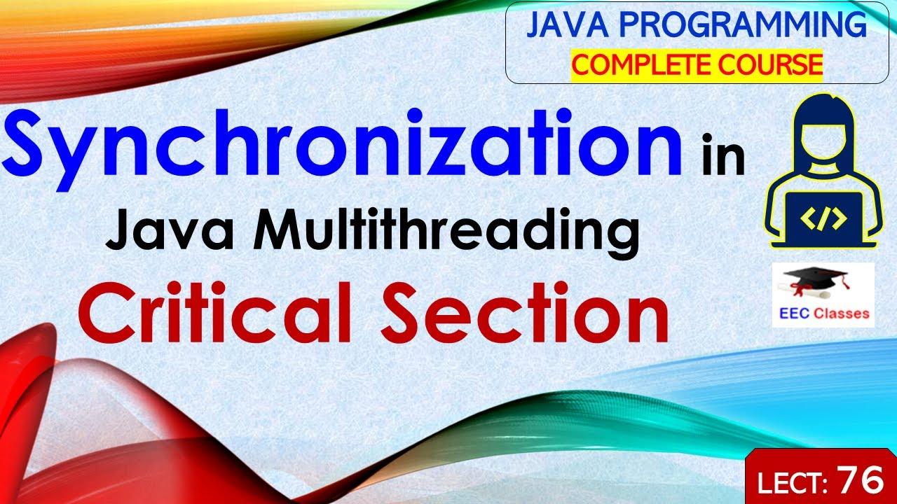 Java tutorial: java threads (java threading and multitasking.