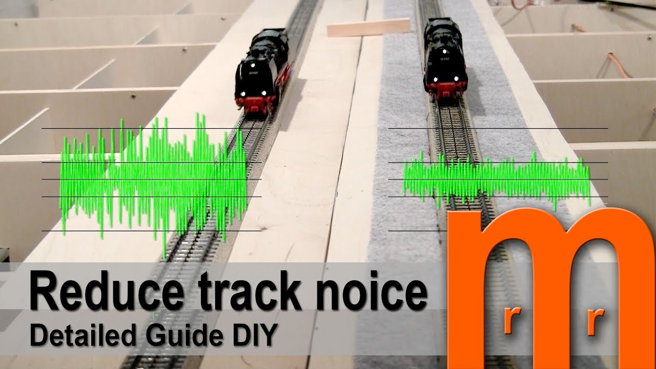 Reduce Track Noice Low Cost Detailed Guide Diy Youtube