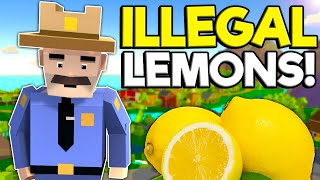I Stole Illegal Lemons for Corrupt Police! - Family Man Gameplay