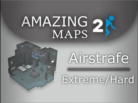 Amazing Portal 2 Maps: Airstrafe Extreme by Blumenrocker (8/10)