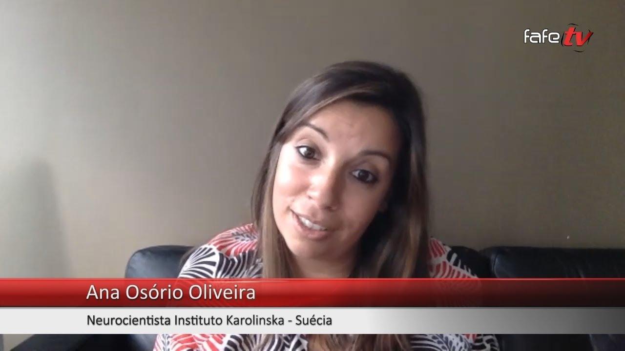 Hoje Falo Eu: Ana Osório Oliveira, bióloga, em Estocolmo, na Suécia.