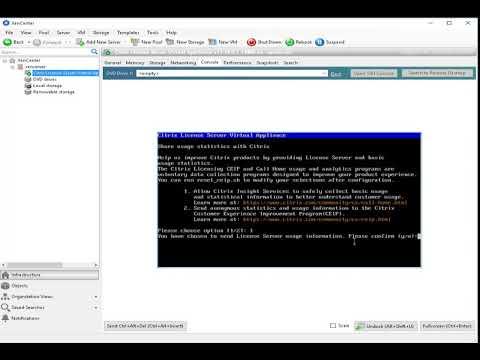 How to license Citrix XenServer using Citrix License Server