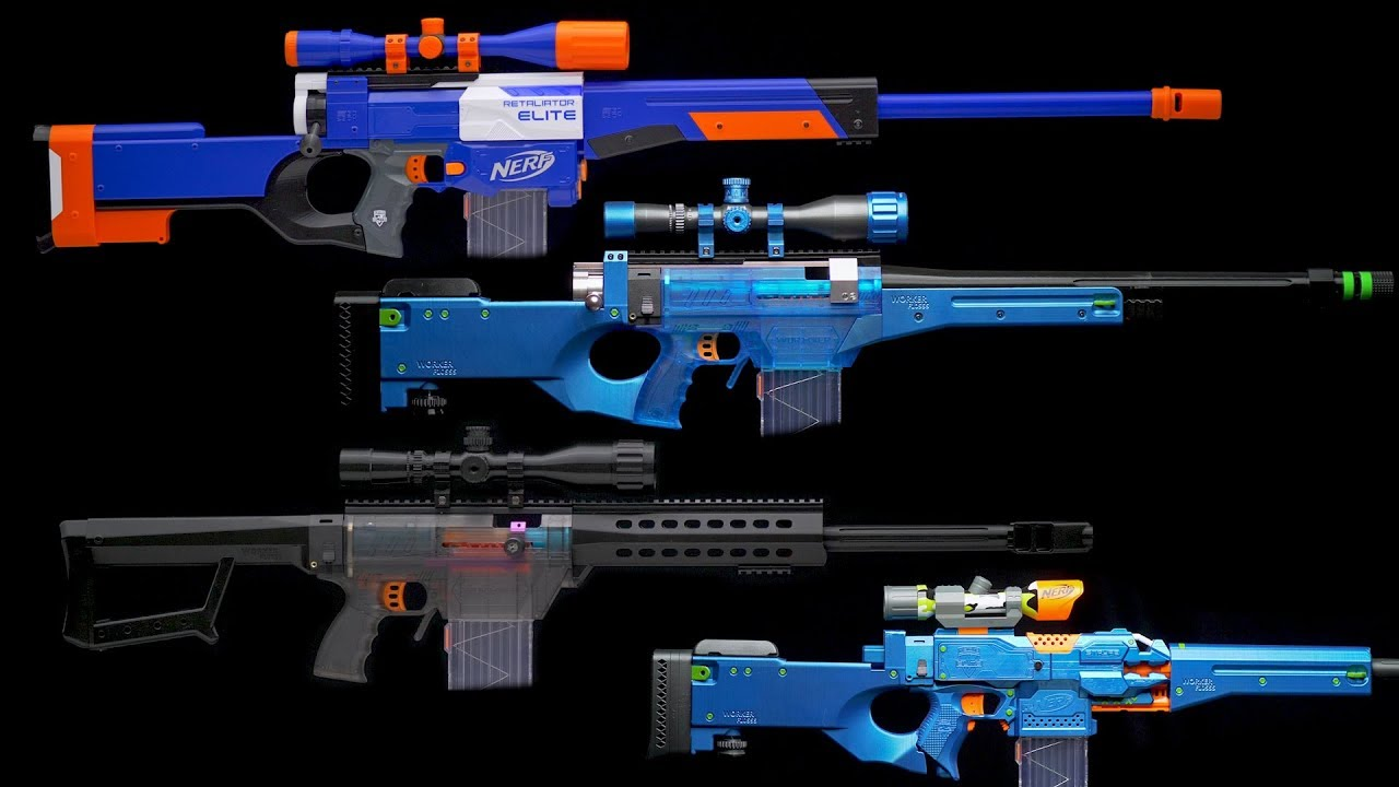 Nerf Sniper Rifle Kits Youtube