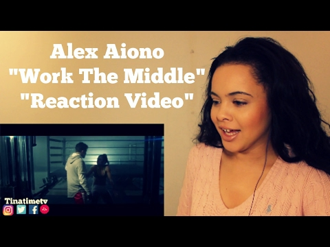 "Alex Aiono - Work The Middle ""Reaction Video"""